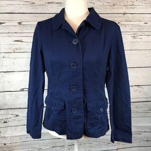 Chadwick's- Lightweight Navy blue jacket, 6